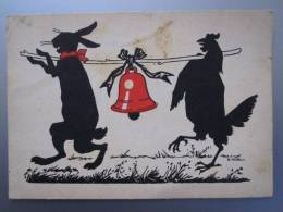 Künstler-AK Emil Hübl: Frohe Ostern - R.M.J.314 - Ansichtskarten