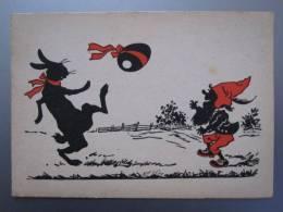 Künstler-AK Emil Hübl: Frohe Ostern - R.M.J.317 - Ansichtskarten