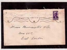 TEN82223  -  SOUTH AFRICA  STORIA POSTALE   - - Briefe U. Dokumente
