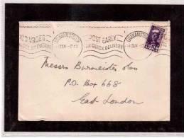 TEN8225     -  SOUTH AFRICA  STORIA POSTALE   -    GRAHAMSTOWN  1.12.1944 - Briefe U. Dokumente
