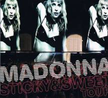 Madonna °°° Sticky & Sweet Tour      Cd+ Dvd - Sin Clasificación