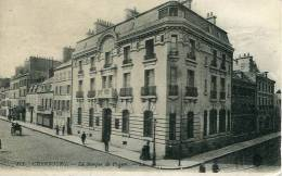 N°26318 - Cpa Cherbourg -la Banque De France- - Banques