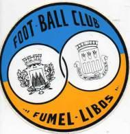Autocollant Sport Football - Fumel Libos - Stickers