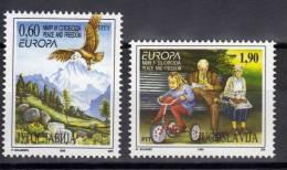 Yugoslavia,Europa CEPT 1995.,MNH - 1992-2003 Federal Republic Of Yugoslavia