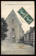 Courmemin: église Et Bureau De Poste - France