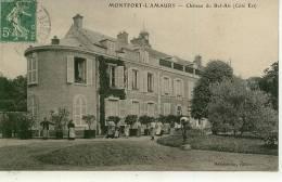 MONTFORT L'AMAURY - - Château Du Bel Air ( Côté Est ) - Montfort L'Amaury