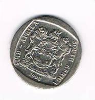 **  ZUID AFRIKA  2 RAND 1990 - Afrique Du Sud