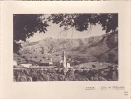 PHOTO Grande Qualité @ Eglise De BELGODERE ( Corse ) En 1936  @ N° 23 - Places