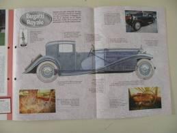 Fiche Technique Bugatti Royale 1927 Une Pure Folie - Cars