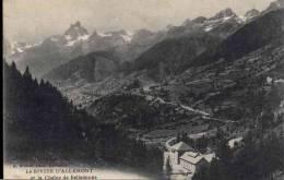 3536  DAUPHINE   ALLEMONT    1922   CH  OU  PAYPAL  AVEC LEURS  F - Autres Communes