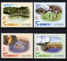 FORMOSE -TAIWAN 2003 - Sources Chaudes De Taïwan - 4 Val Neufs // Mnh Hot Springs - 1945-... République De Chine