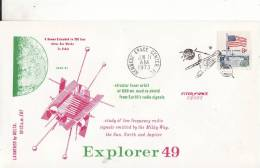** EXPLORER 49 ** Vol De KENNEDY SPACE CENTER 11-06-1973 - FDC & Commemoratives