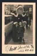 Père Noël  Enfant  1962 Bayonne  9x14cm - Personnes Anonymes