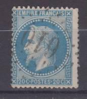 Lot N°19761  Variété/n°29, Oblit GC 610 BRESSUIRE(75), Ind 3, Deux Taches Blanches Gréque NORD EST - 1863-1870 Napoléon III Con Laureles