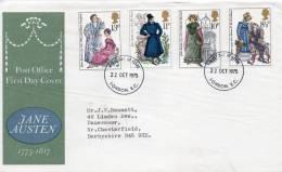 GREAT BRITAIN 1979 FDC JANE AUSTEN - FDC