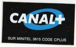Autocollant Média - Canal Sur Minitel 3615 Code Cplus - Adesivi
