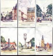 Chromos Liebig - Série Complète De 6 Français N°354 - Perrons Et Piloris - Other