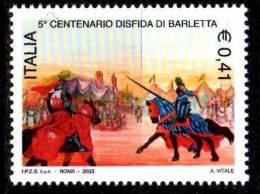 PIA - ITALIA - 2003 : 5° Centenario Della Disfida Di Barletta    - (SAS  2674) - 1946-.. Republiek