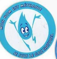 Autocollant énergie - Mon Nom Est Méthanie, Gaz Naturel - Autocollants