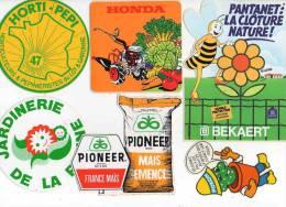 Autocollant Jardinerie - Bekaert, Pokon, Pioneer Semence, Fisons, Interflora, Honda, Horti-pepi 47 X 8 - Stickers