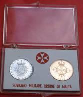 SMOM 1969 - SILVER AND BRONZE COINS - Malte (Ordre De)