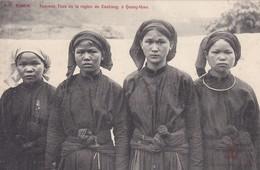 ASIE----TONKIN----Femmes Thos De La Région De Caobang à Quang-uyen--voir 2 Scans - Viêt-Nam