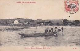 ASIE---TONKIN---baie De Cam Ranh---retour D'une Barque De Pêche--voir 2 Scans - Viêt-Nam