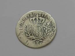 Louis XV - 1/20 Eme D´écu Aux Branches D´oliviers  1728 K **** EN ACHAT IMMEDIAT ***** - 987-1789 Royal