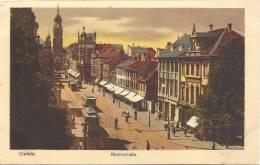 CREFELD - Rheinstrasse  - Tram - J.W.B. N° 116 - Krefeld