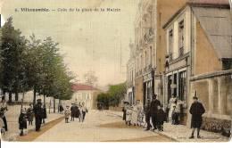 CPA Villemomble Animée Place De La Mairie - Villemomble