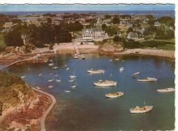 Ile De Bréhat..belle Vue Aérienne..le Port Clos..les Vedettes..bateaux De Pêche - Ile De Bréhat