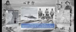 4.- ISLE OF MAN 2012.-  The Centenary Of Scott's South Pole Expedition. MINT - Polar Philately