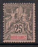 DIEGO-SUAREZ N°45 N* - Unused Stamps