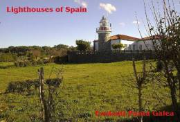 Lighouses Of Spain - Euskadi/Punta Galea Postcard Collector - Faros
