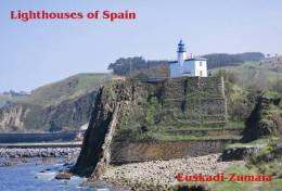 Lighouses Of Spain - Euskadi/Zumaia Postcard Collector - Faros
