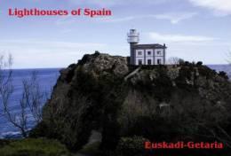 Lighouses Of Spain - Euskadi/Getaria Postcard Collector - Faros