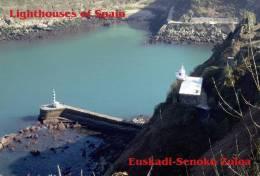 Lighouses Of Spain - Euskadi/Senoko Zuloa Postcard Collector - Faros