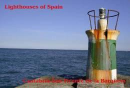 Lighouses Of Spain - Cantabria/San Vicente De La Barquera Postcard Collector - Faros