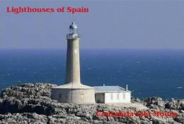 Lighouses Of Spain - Cantabria/Isla Mouro Postcard Collector - Faros