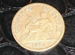 50 Centimes Type Chambre De Commerce Bronze-Aluminium 1924 - G. 50 Centimes