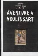 PASTICHE PARODIE TINTIN AVENTURES A MOULINSART - Tintin
