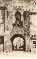 POSTAL DE PARIS DE ST. PAUL-TROIE CHATEAUX - PORTE NOTRE-DAME DEL AÑO 1918 - Notre Dame De Paris