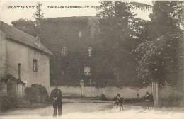 Doubs -ref A458- Montagney - Tour Des Santans -14eme Siecle  - Carte Bon Etat - - Autres Communes