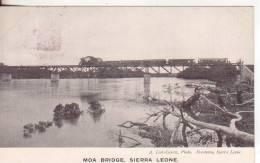 3-Moa-Sierra Leone-Colonia Inglese-Gran Bretagna-Treni-Ponti-Trains-Ponts-Bridges-v.1906 X Paris-France - Sierra Leone