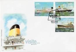 Portugal Azore Madeira / Europa 2012 / FDC - Europa-CEPT