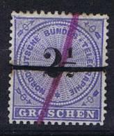 Deutschland: Nordd. Postbezirk Mi  T 3 Used/cancelled