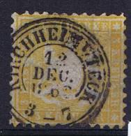 Deutschland: Württemberg Mi. 22  Used/cancelled ,