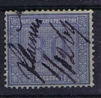 Deutschland: Nordd. Postbezirk Mi  26 Used/cancelled