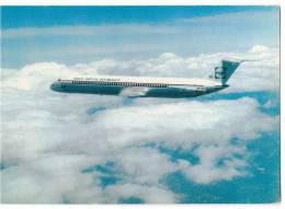 TRANSPORT AIRPLANE DC-9 INEX ADRIA AIWAYS LJUBLJANA YUGOSLAVIA BIG CARD OLD POSTCARD - 1946-....: Moderne