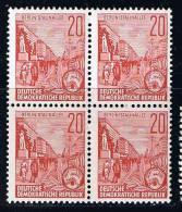 DDR 1957, Michel # 580 ** - Unused Stamps
